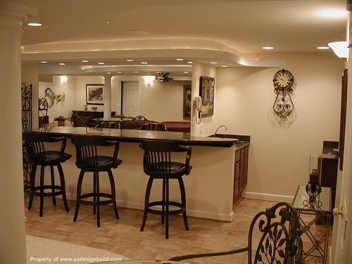 Www Aadesignbuild Com Finished Basement Home Theater Ba Flickr