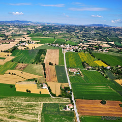 UMBRIA   Aerial photo | by Giancarlo Giupponi  Trentino