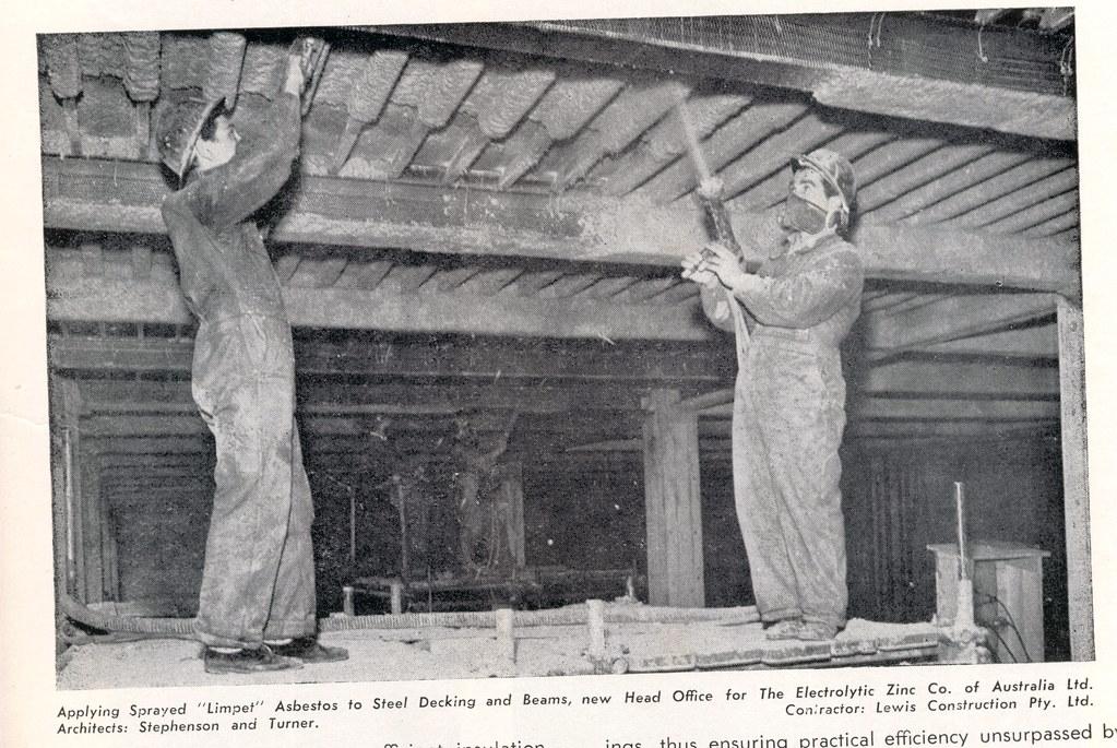 Spraying Limpet Asbestos John Flickr