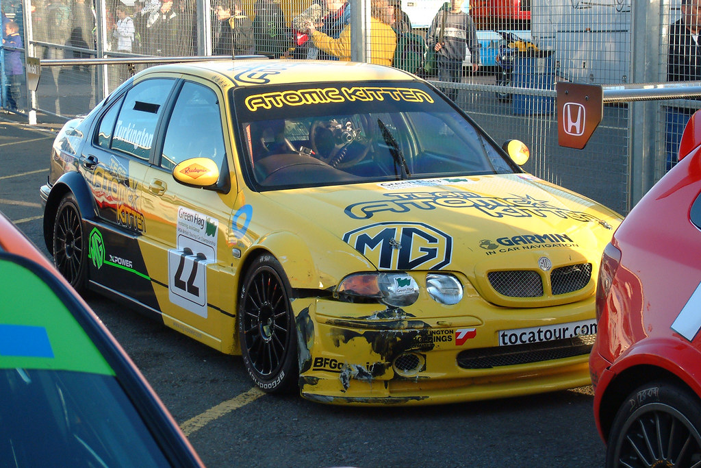 Race Cars - BTCC 2002 - MG ZS V6 - Colin Turkington - 22 -… | Flickr