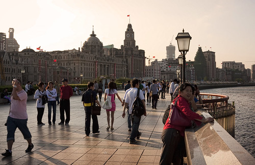 Strolling the Bund at Sunset | by IceNineJon