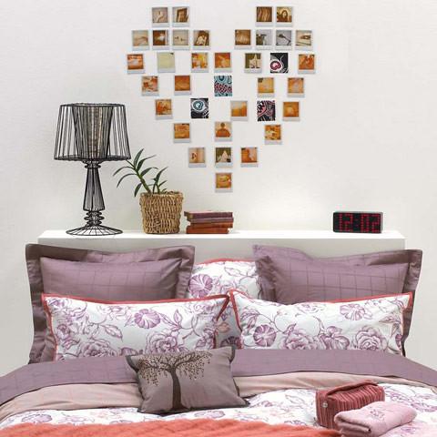 Decoracion pared corazon foto - Decoracion de paredes con fotos ...