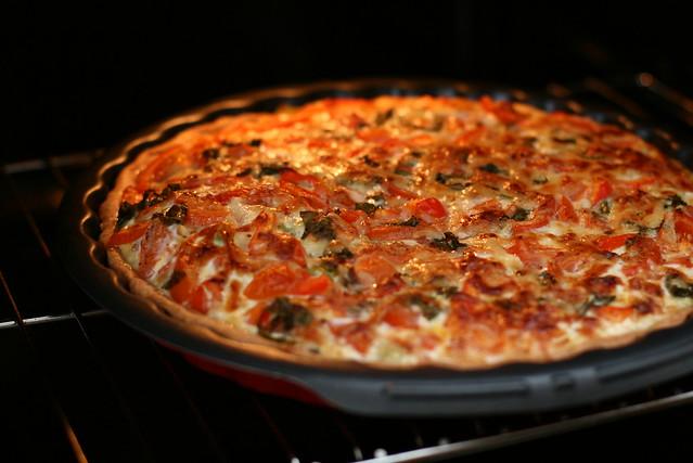 tomaten quiche