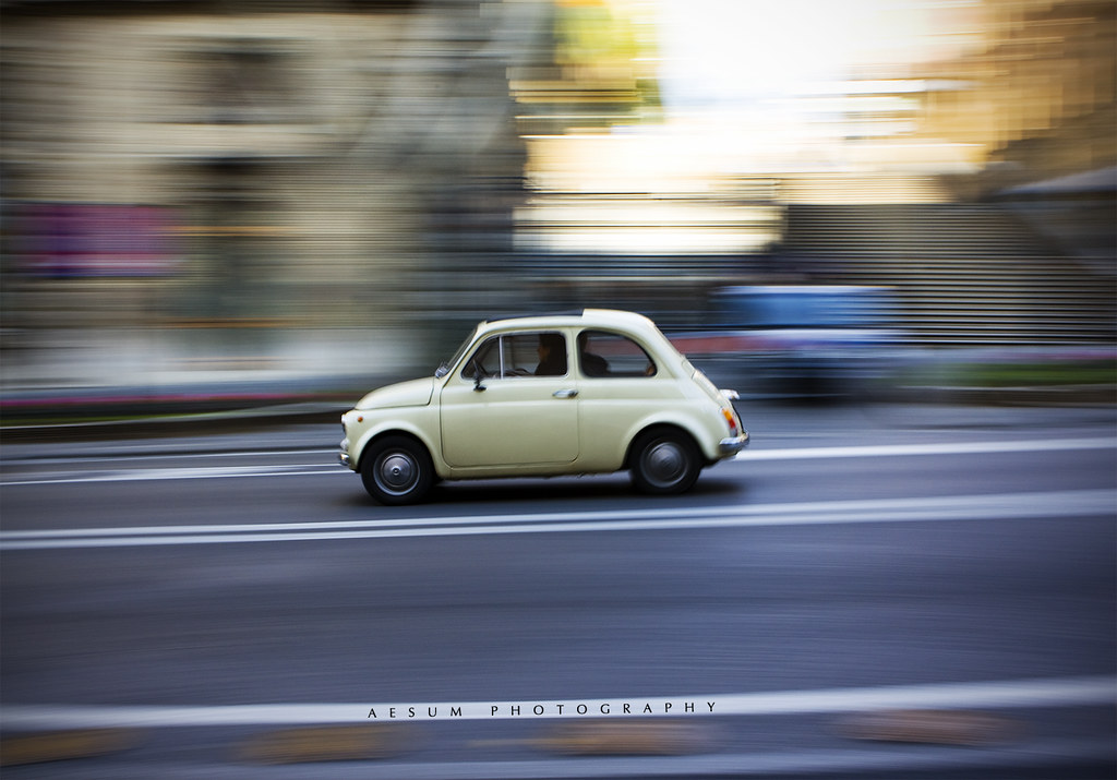 Panning Photography Flickr Fiat 500 Panning Flickr