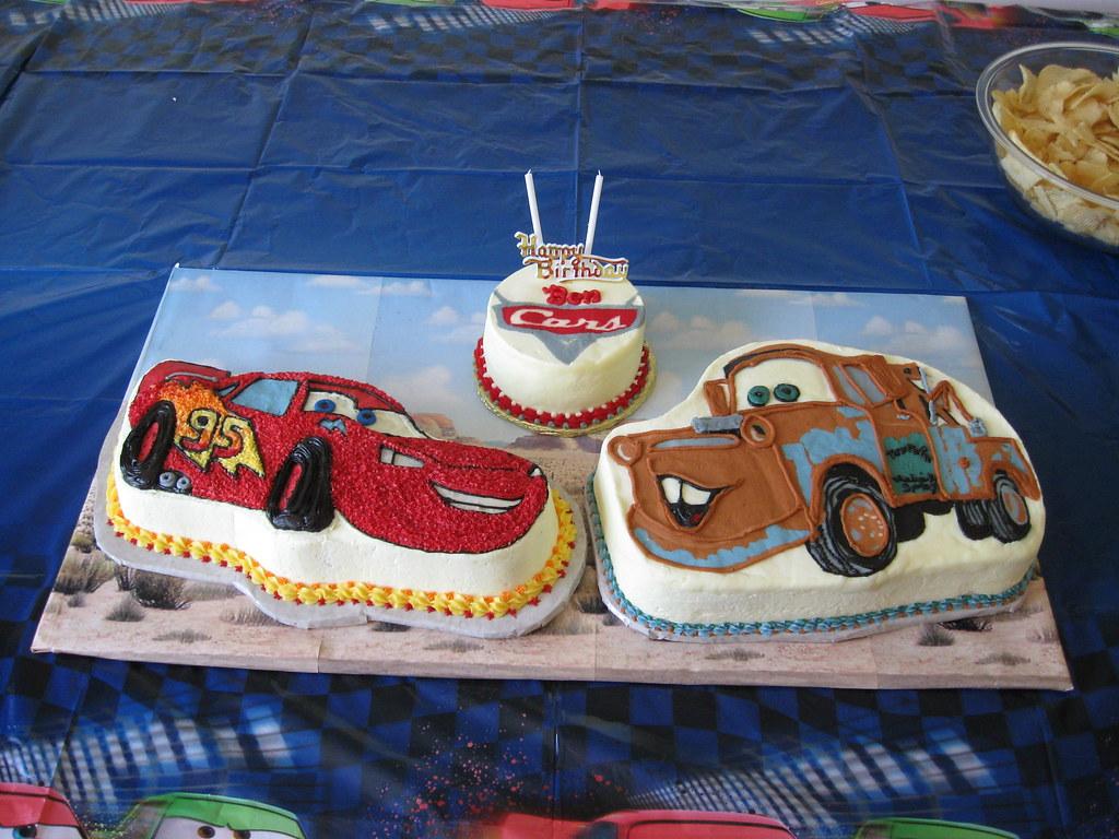 Disney Cars Cakes For Benjamin 01 23 2010 The Smash Cake W Flickr