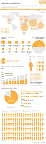 Global Burden of Tuberculosis | by GDS Infographics
