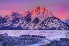 Grand Tetons , Sunrise From Snake River | by kevin mcneal