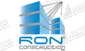 Construction logo from logo design consultant logo for What is a design consultant