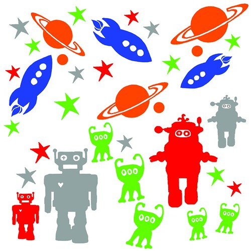 kids space wall stickers pack kids space wall stickers outer space kids room nursery peel and stick wall sticker