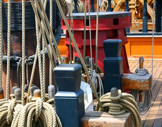 HMS Surprise (rigging and capstan) | by MFMarlow