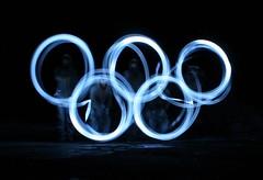 Light Painting Olympics by BlaisOne
