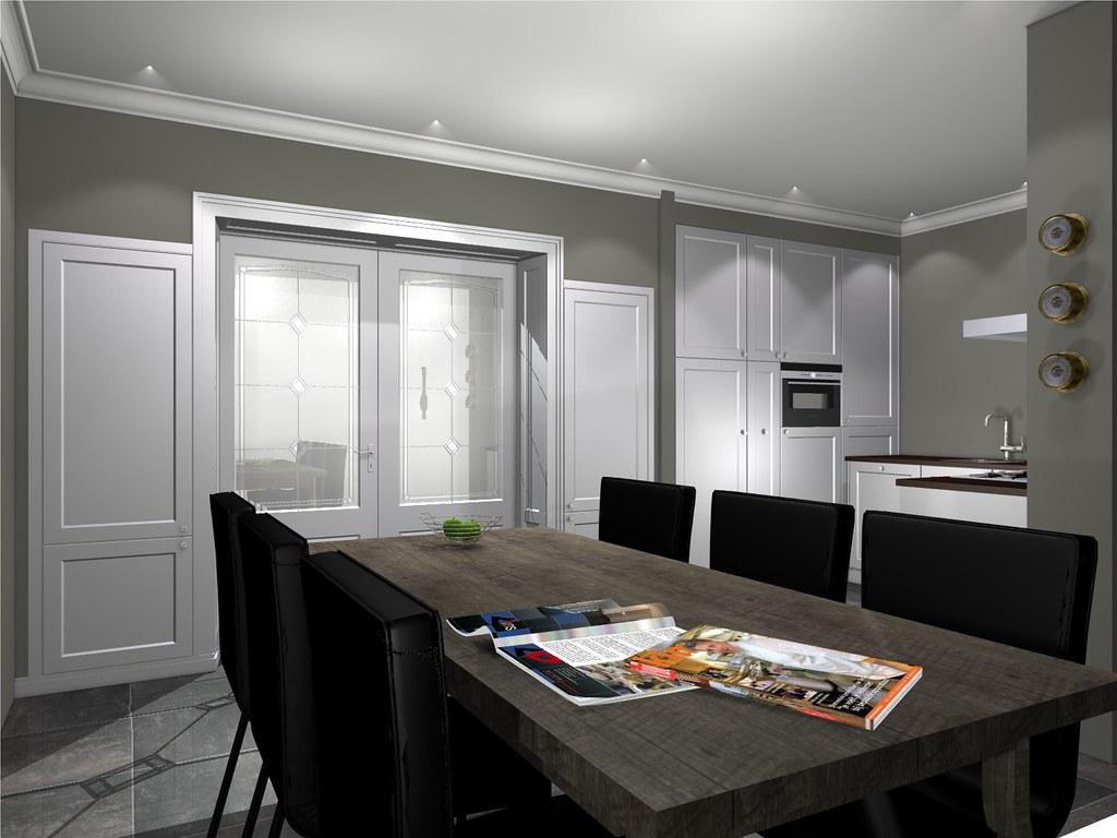 Kamer en suite in combinatie met keuken flickr - Lounge en keuken in dezelfde kamer ...