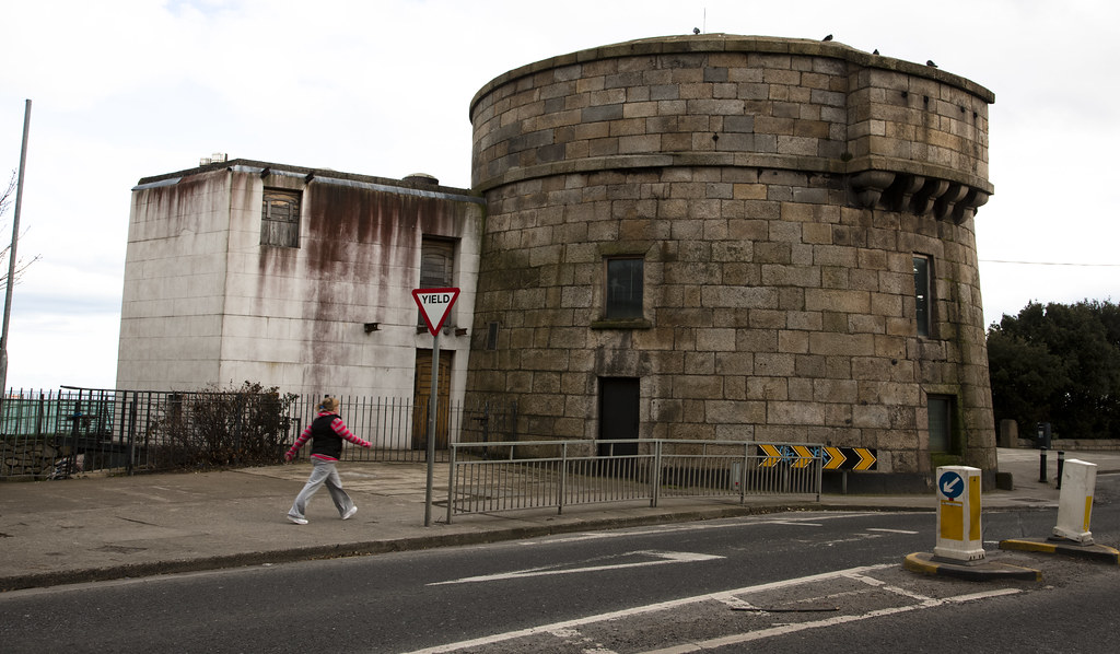 Martello Tower In Sandymount Martello Towers Or Simply