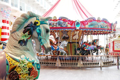 The Carousel aboard the Oasis of the Seas | by blmiers2