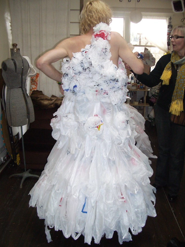 Join. All Plastic bag dresses good question