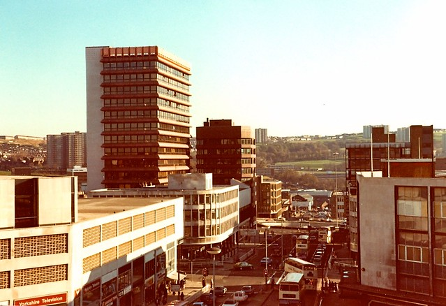 Zz Top Car >> AEUW Building, Sheffield 1980   I think I was on top of the …   Flickr