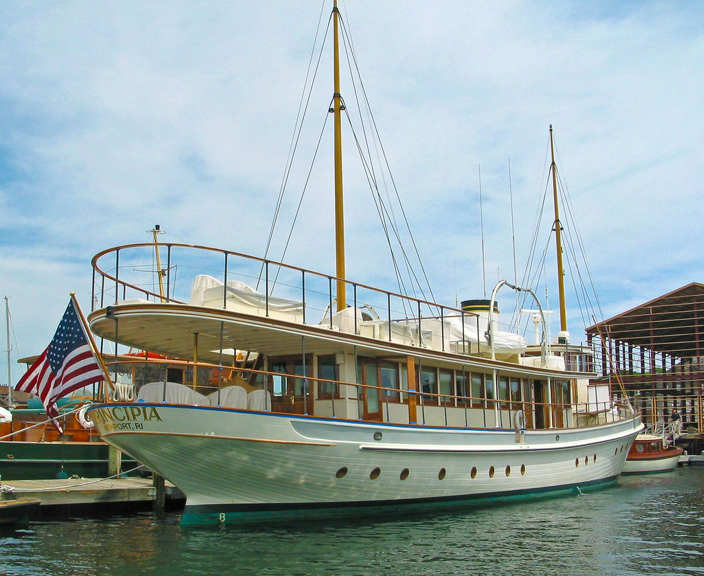 Yacht In Rhode Island