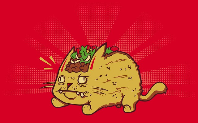 Taco Cat (Wallpaper Version) | By request - hit 'all sizes ...