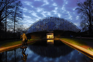 Climatron at night | by Missouri Botanical Garden