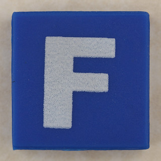 counterfeit Lego letter F | by Leo Reynolds