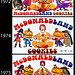 McDonald's - McDonaldland Cookie box evolution - 1972, 1974, and 1975