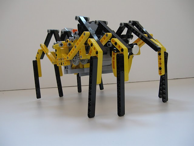 Lego Technic Robot Spider | Lego Technic Robot Spider build … | Flickr