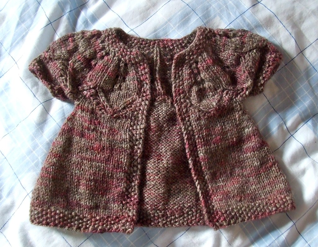 Knitting Jobs Nz : Autumn leaves for baby rose in new zealand pattern