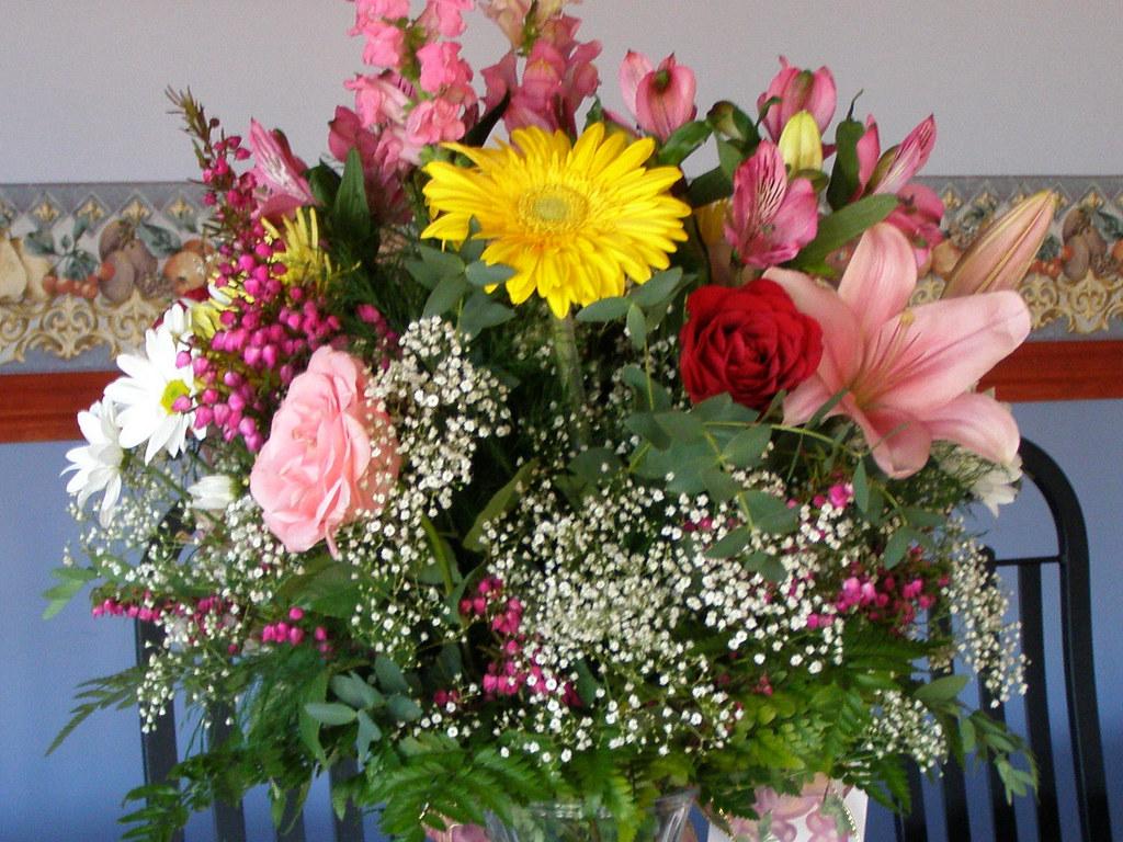 bouquet de fleurs par djeanart bouquet de fleurs par dje flickr. Black Bedroom Furniture Sets. Home Design Ideas
