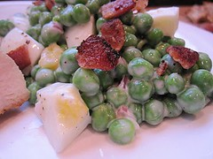 Stirring the Pot: Paula's Pea Salad | by CinnamonKitchn