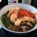 Rice & Fish: Soba with prawns