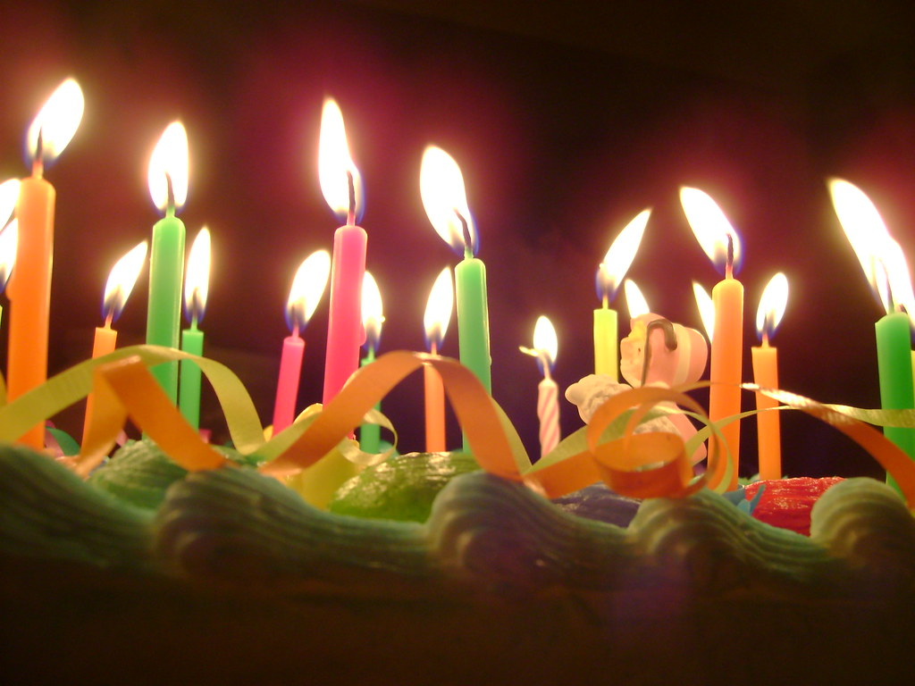 Birthday Cake Candles By Viktrav