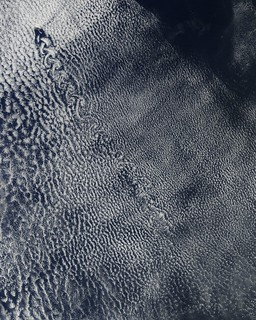 Cloud vortices off Isla Socorro | by NASA Goddard Photo and Video