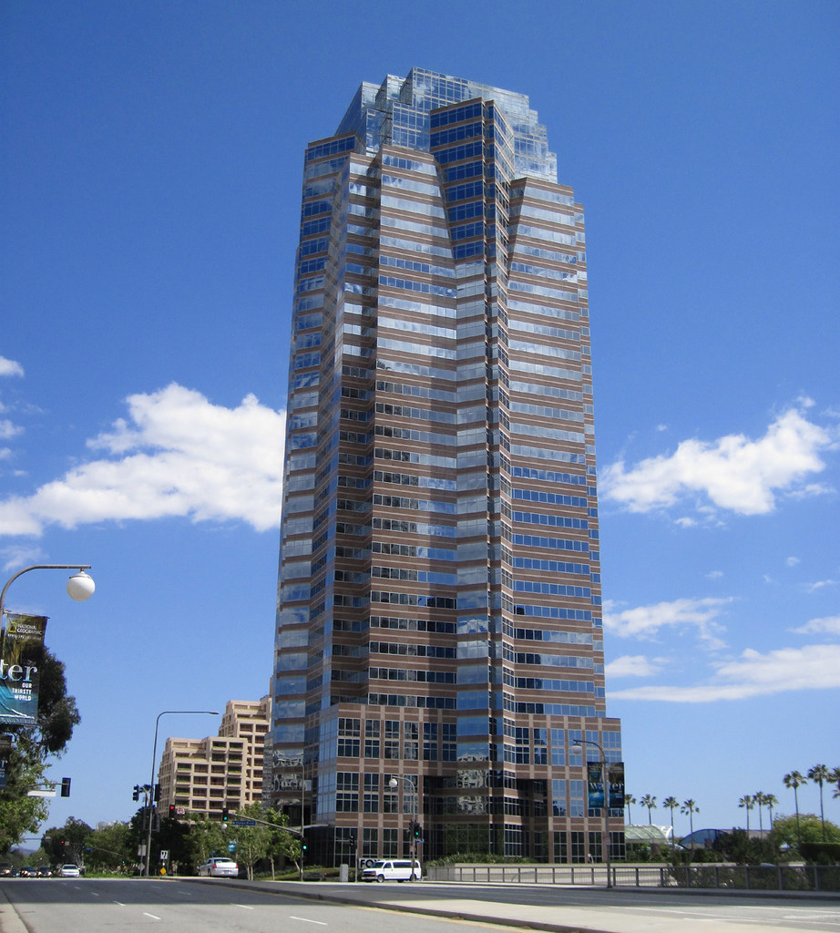 Fox Plaza Building Aka Nakatomi Plaza