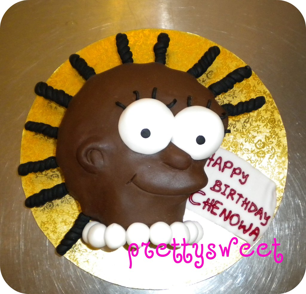 Lisa Simpson Birthday Cake