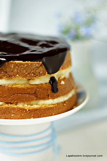 Boston Cream Pie | by La Patissiere