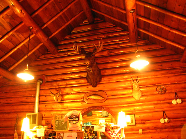 Log cabin restaurant silver gate montana flickr for Log cabin cafe