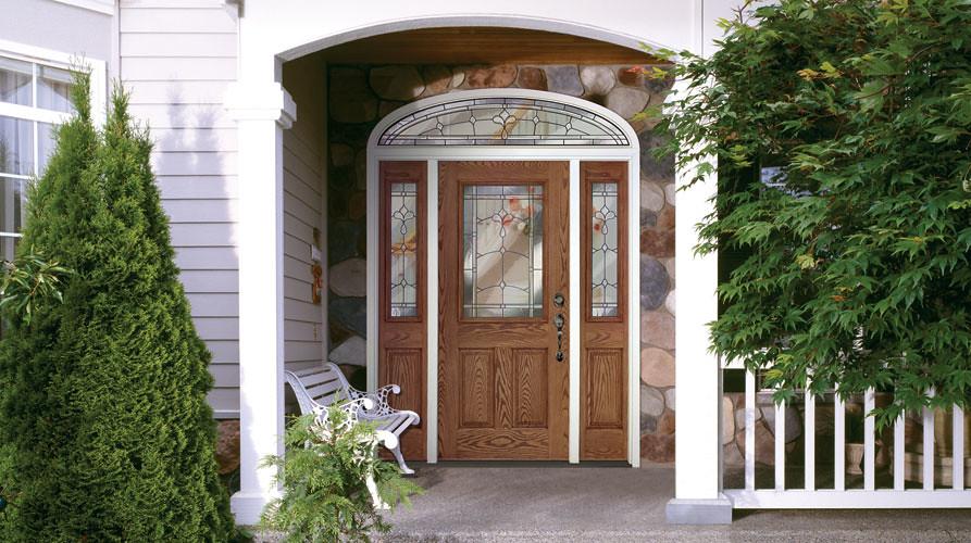 Feather River Door Fiberglass Entry Doors Medium Oak Doo Flickr