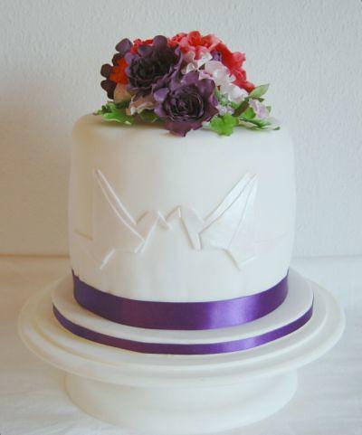 Hochzeitstorte mit Kranichen | Janes Cake Tragedy | Flickr