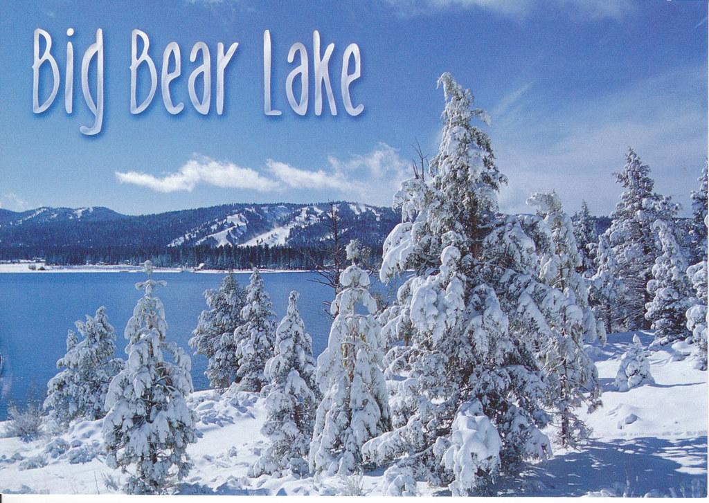 big bear lake winter postcard from my mom big bear lake. Black Bedroom Furniture Sets. Home Design Ideas