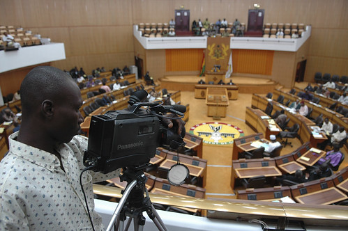 Lawmakers meet during a session of Parliament in Accra | by World Bank Photo Collection