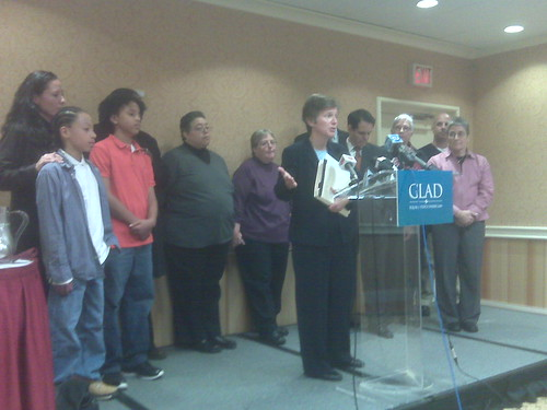 GLAD holds press conference on new DOMA challenge | by WNPR - Connecticut Public Radio