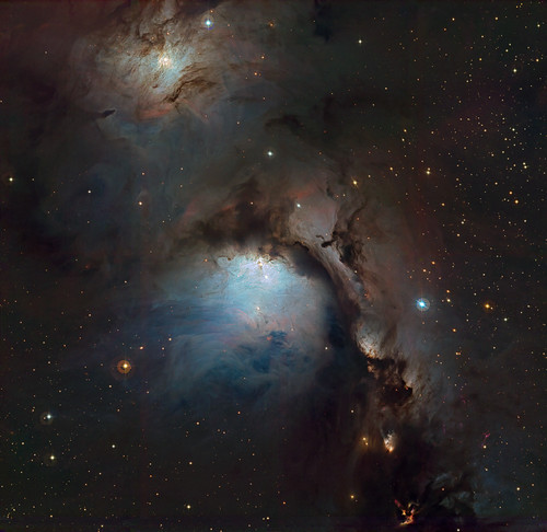 M78 for ESO Processing contest. WFI camera on 2.2m telescope | by igorfp