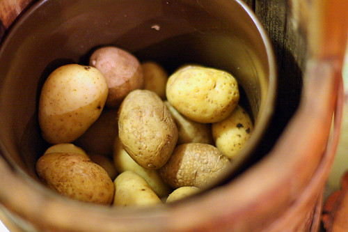 raclette potatoes | by David Lebovitz