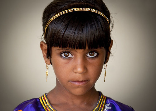 Cute bedouin girl from Ibra, Oman | by Eric Lafforgue