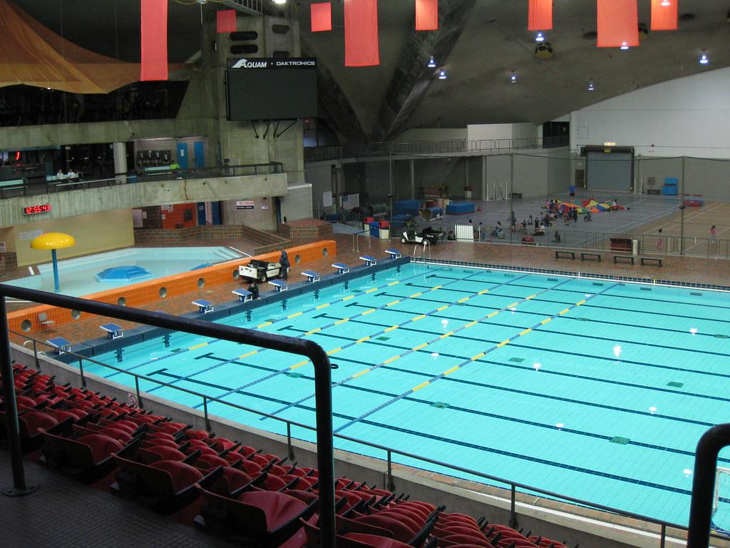The Olympic Swimming Pool Montr Al David Jones Flickr