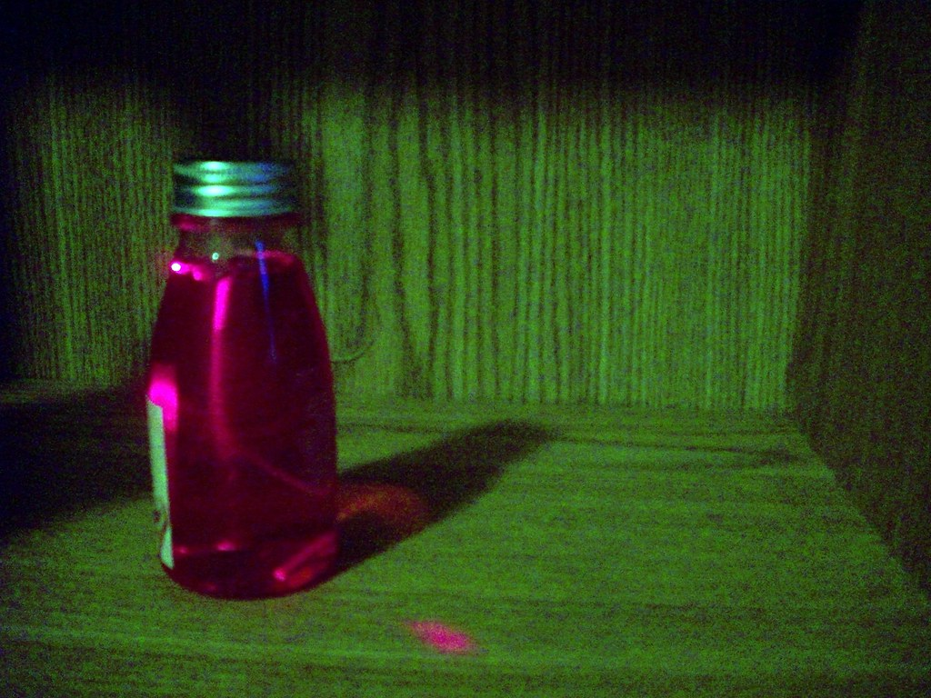 A Pink Bottle Had A Heck Of A Time Taking This Picture