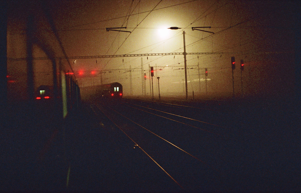 Night Trains in the Fog | by Ian_Boys