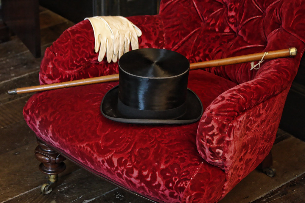 Top Hat Gloves And Cane Rosehill House Darby Houses
