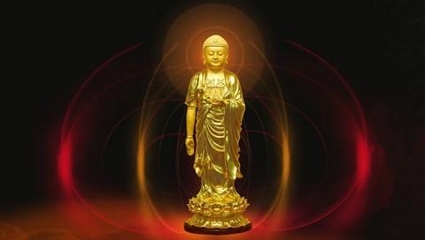 Amitabha Buddha Wallpaper Golden Amitabha Buddha