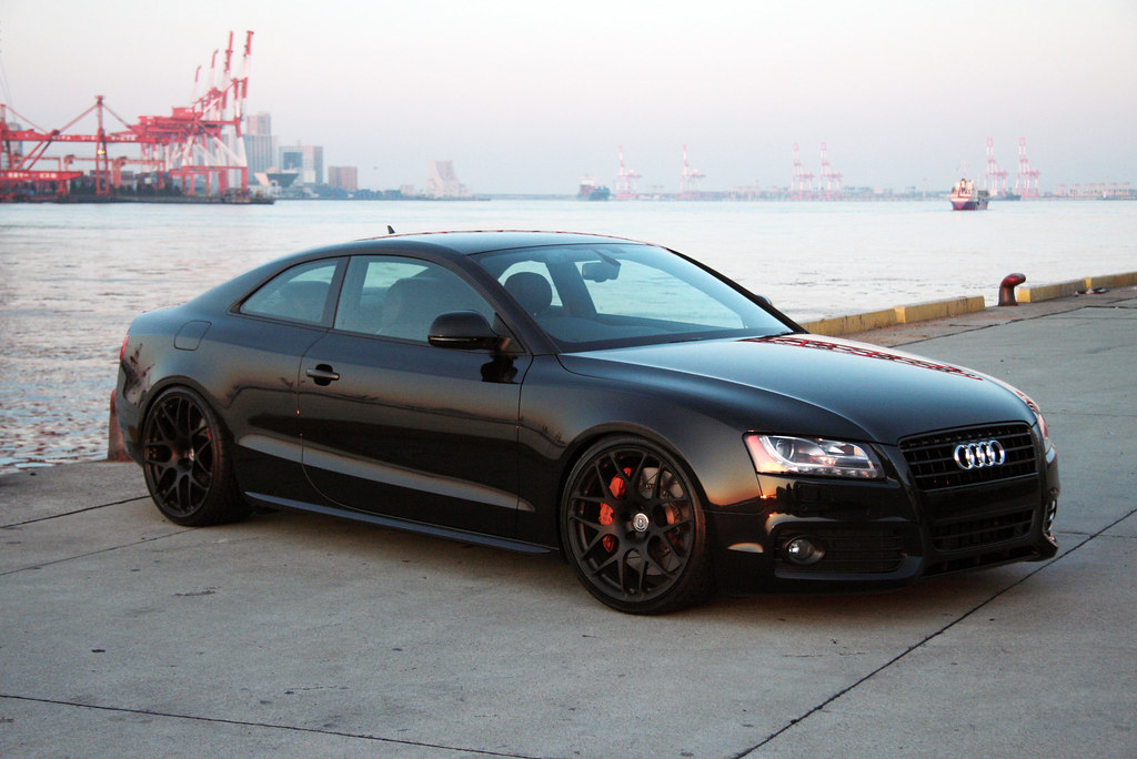 Audi A5 Japan S Auto Technik A5 Hre Forged P40 Monoblok